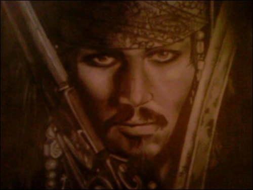 Johnny Depp por doodlesx